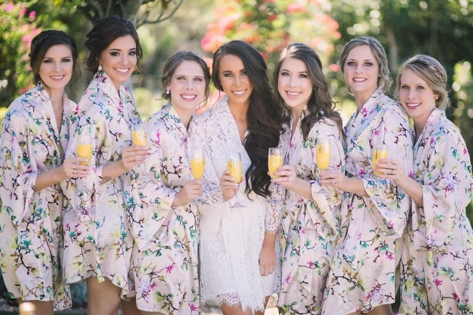 Love+Peony Bridesmaid and Bridal Robes