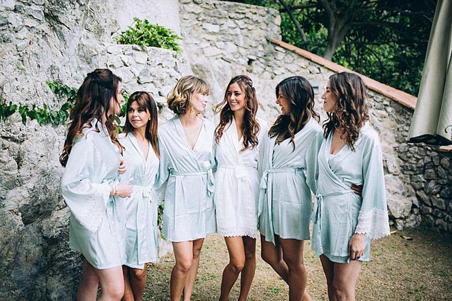 Love+Peony Bride and Bridesmaids Robes