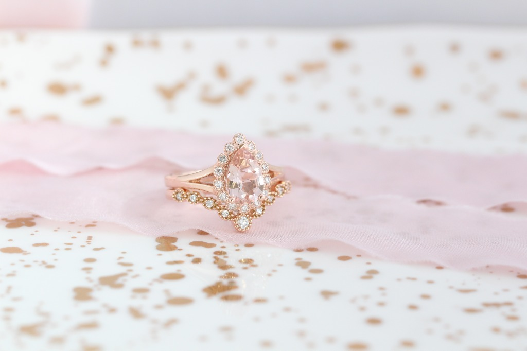 Pretty in peach team forever! Feminine and sweet, our morganite collection is a popular one! See more photos!