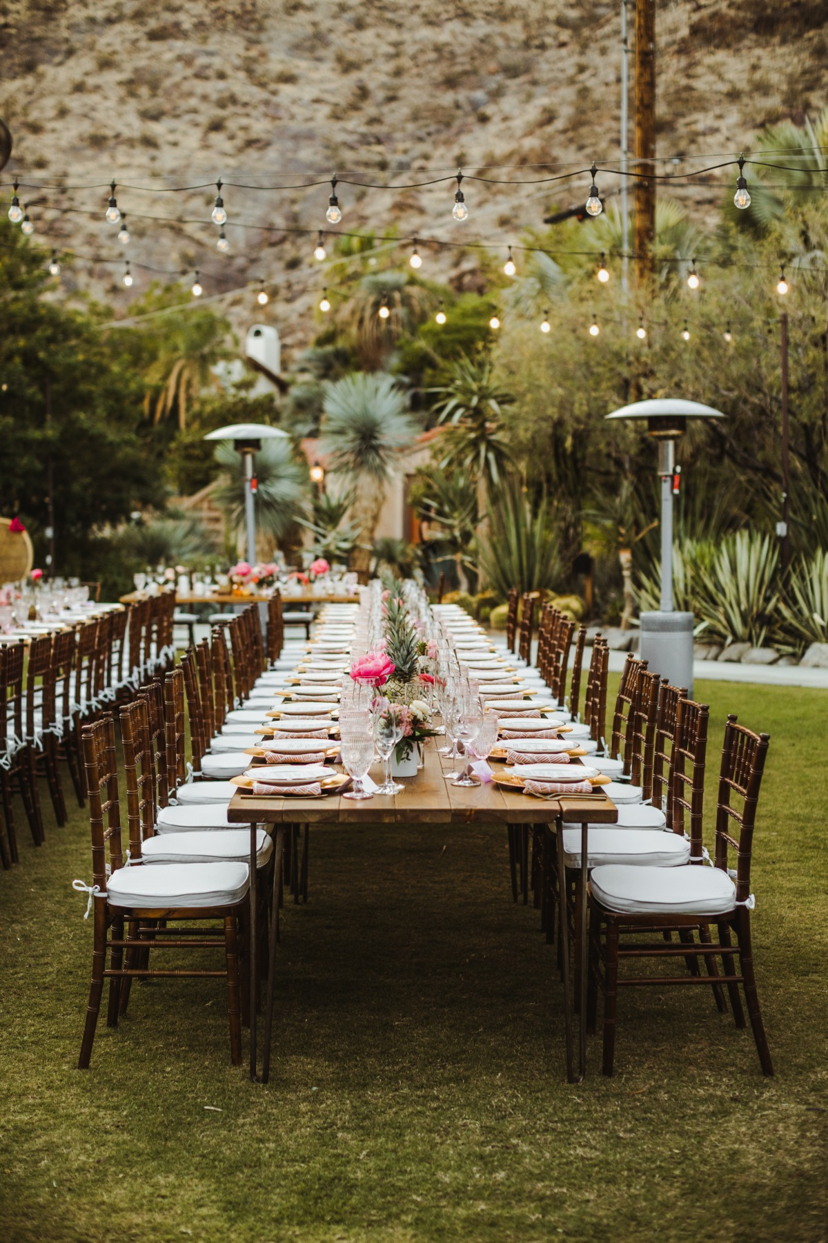 Chic Palm Springs wedding