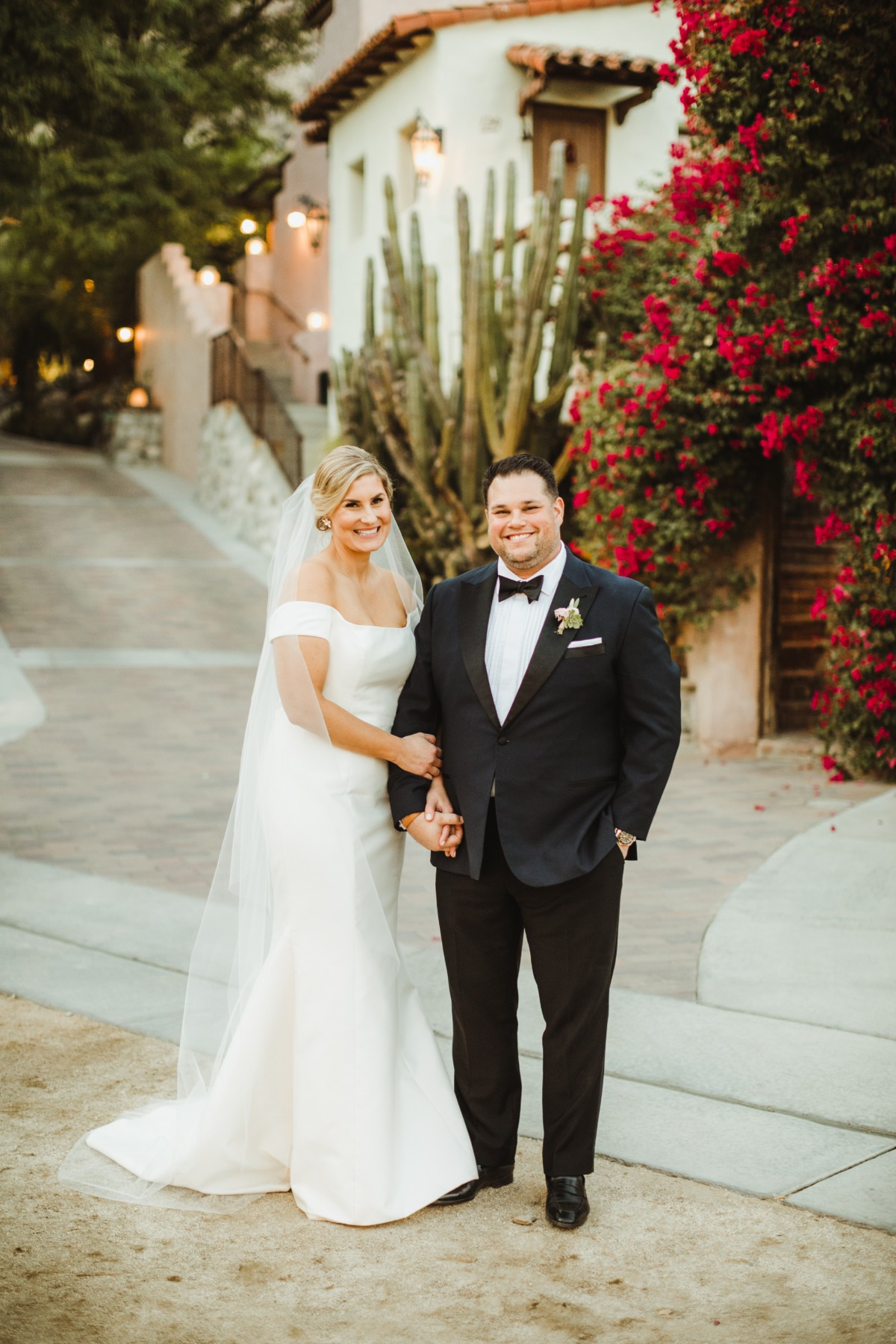 Romantic Palm Springs wedding
