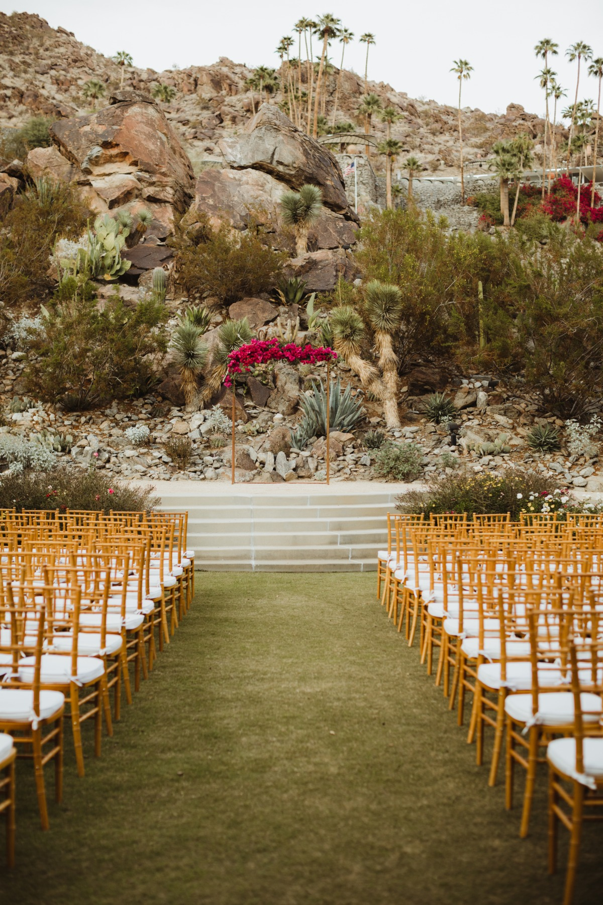 Romantic wedding Palm Springs