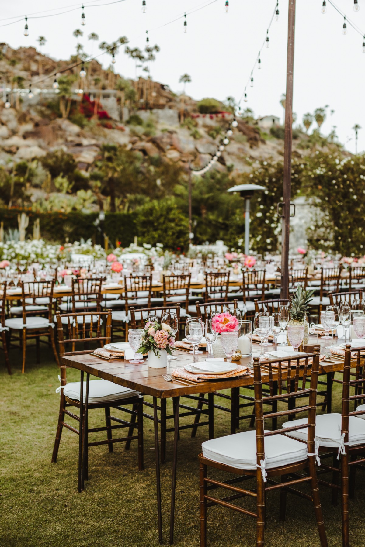 Desert chic Palm Springs wedding