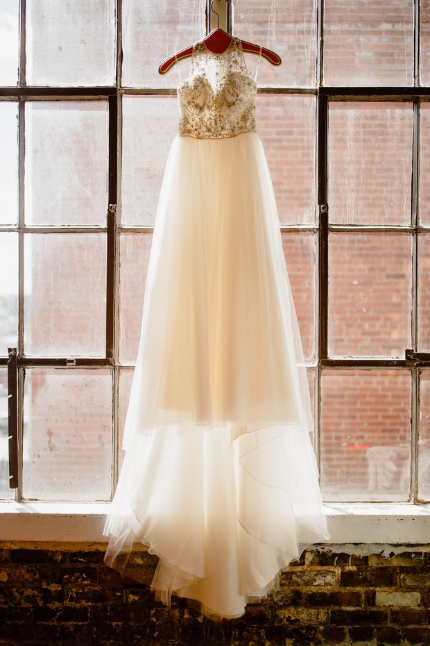 wedding dress from Emily Hart Bridal