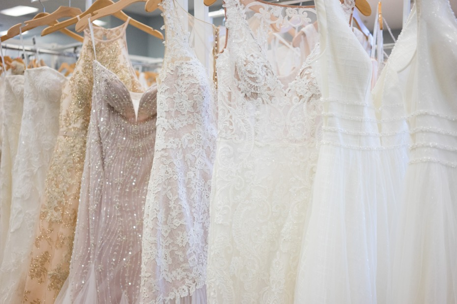 David's Bridal Grand Reopening Event in Costa Mesa