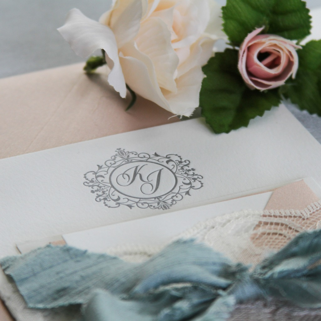 Monograms are a simple and luxurious touch to not only your invites, but can be put on so many different items, such as napkins, favors