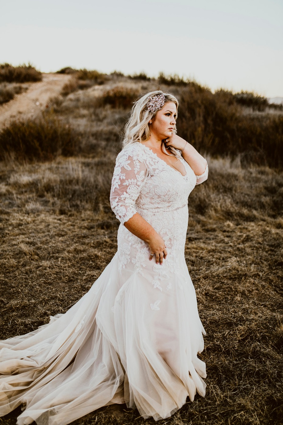 CocoMelody Gowns for Curvy Brides