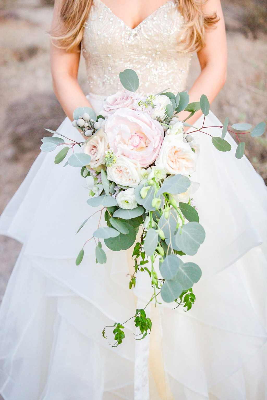 A cascading bouquet is always a favorite of mine!