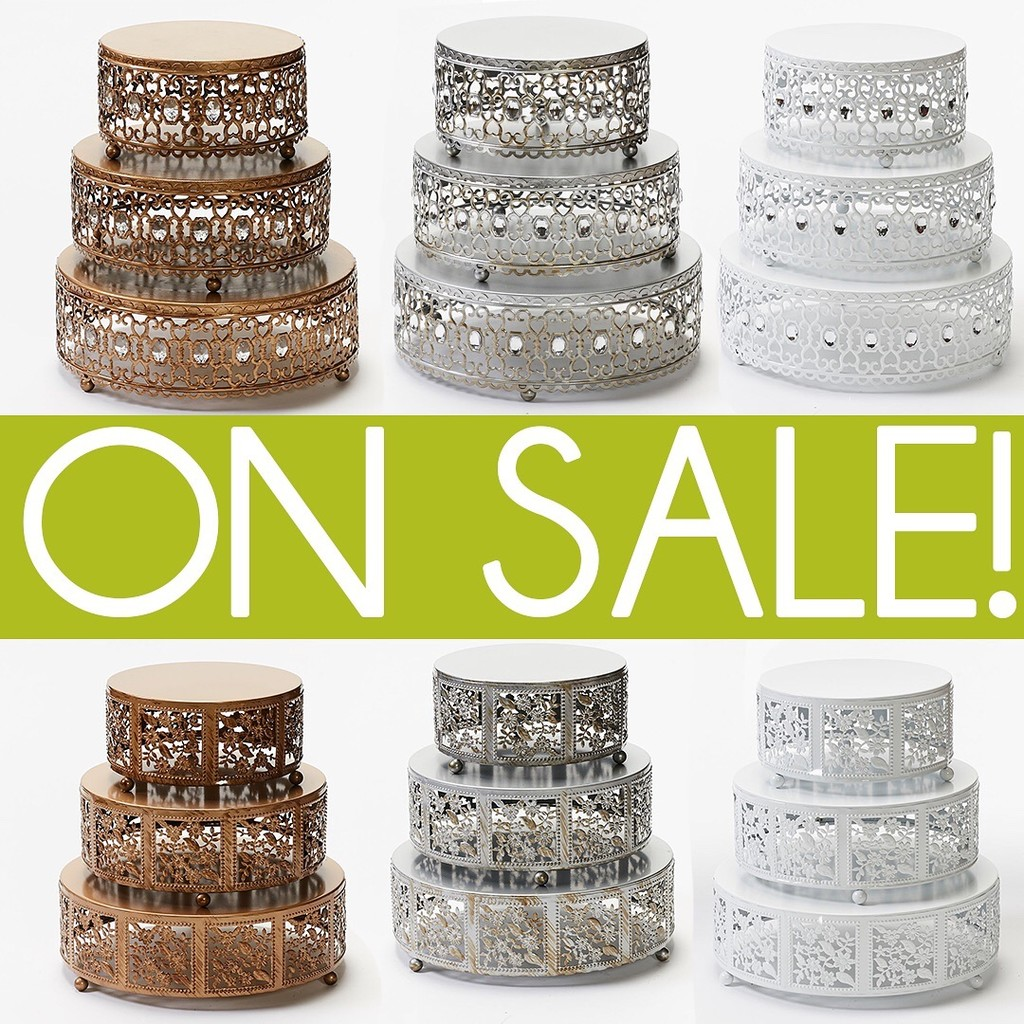 Wedding Cake Stand Sale