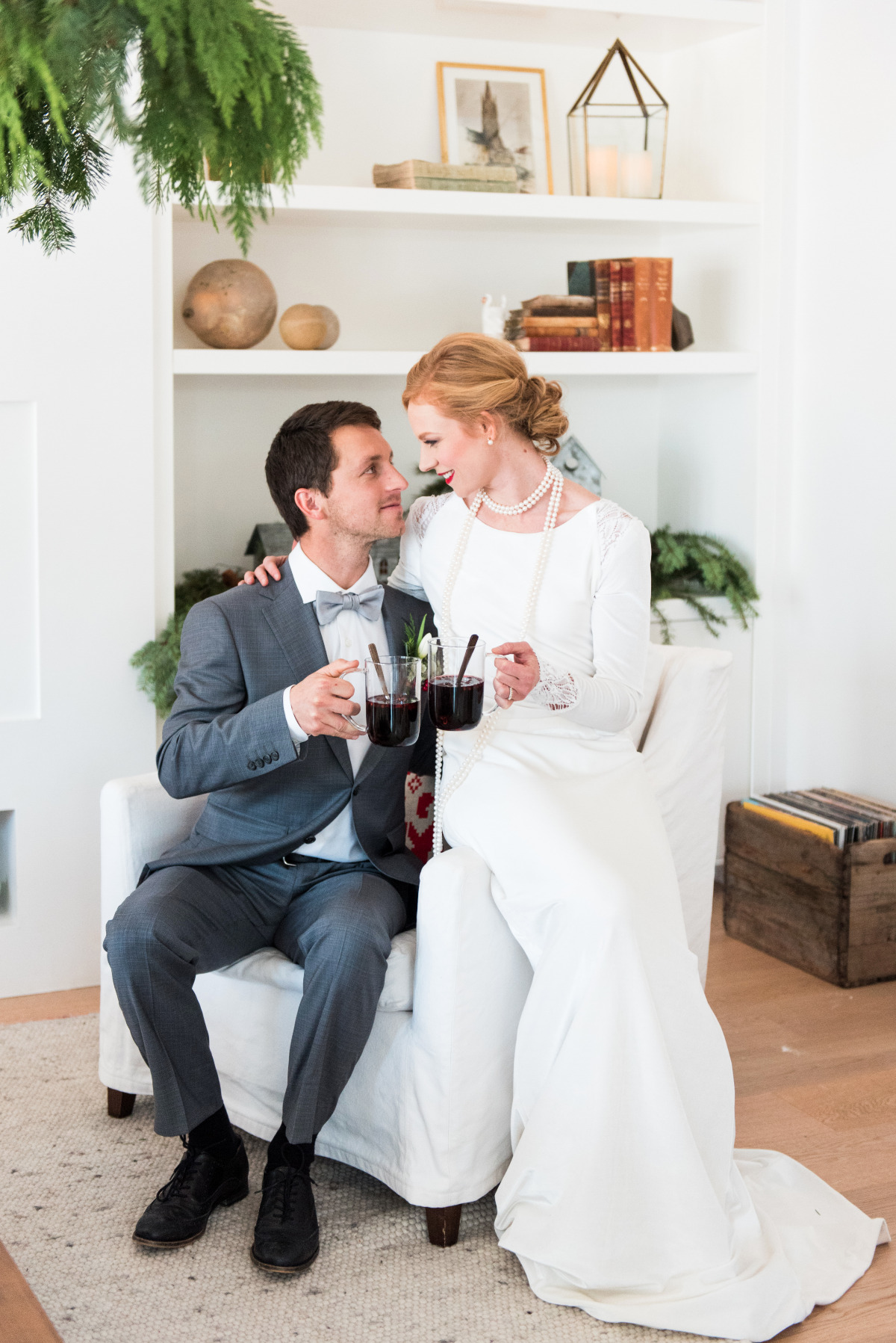 Scandinavian winter wedding ideas