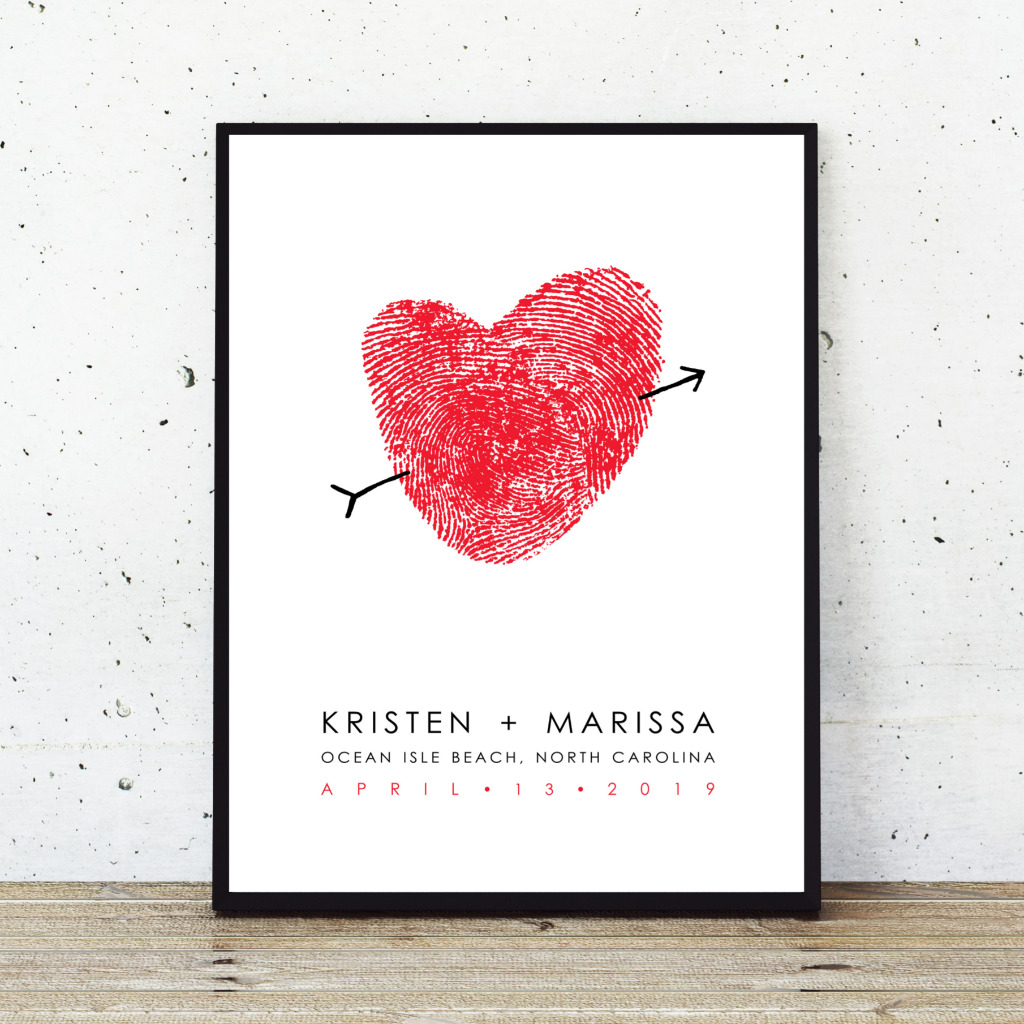 Don't settle for generic at your wedding - this is made with YOUR prints. No two are ever completely alike!