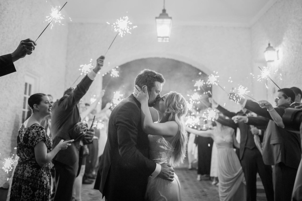 Creating Memories with Sparklers at your wedding!