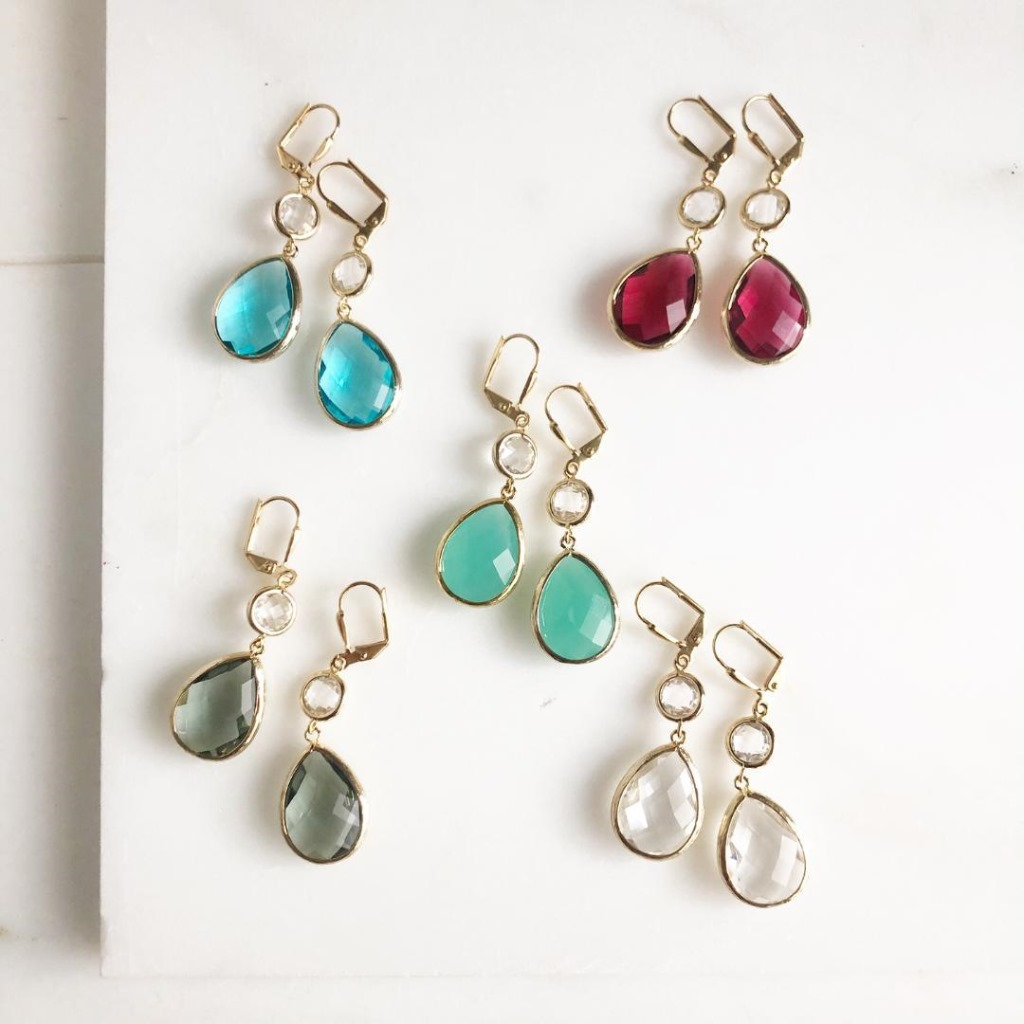 These earrings are perfect for every day or lovely enough for a wedding occasion! Whether your the bride, bridesmaid, mother of the