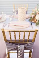 Blush and Gold Glam Wedding Ideas