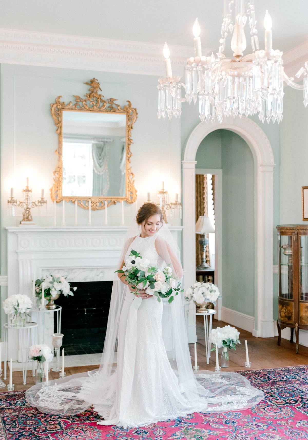 Southern Garden Wedding Ideas with Wedding Flowers for Rent
