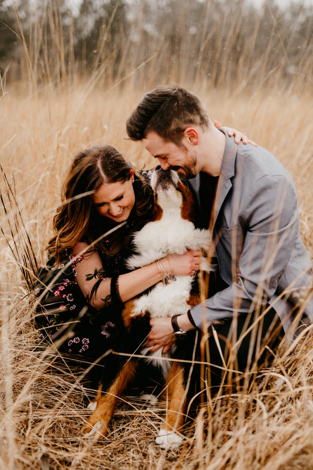 If you are planning a family, engagement, or even your wedding and you have a dog . . . Caleb and I would LOVE to be your photographers