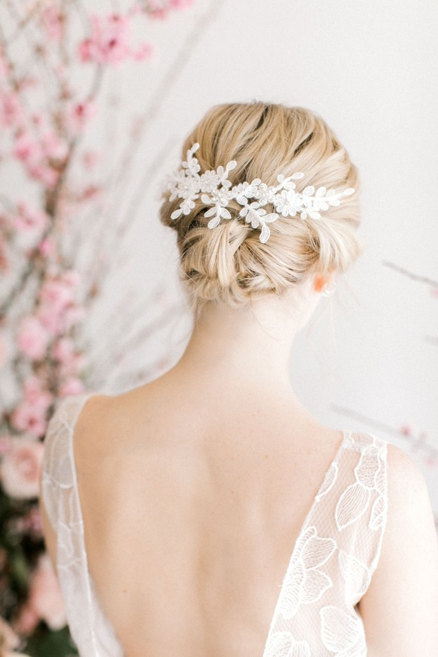 bridal hair updo