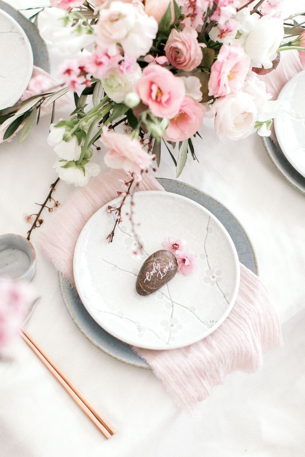 pink spring wedding ideas