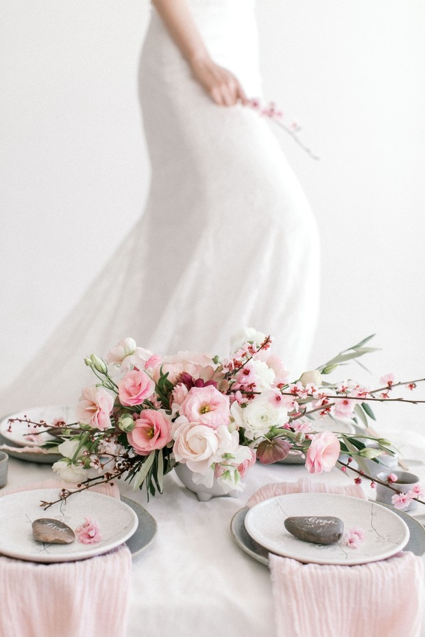 Cherry blossom wedding design