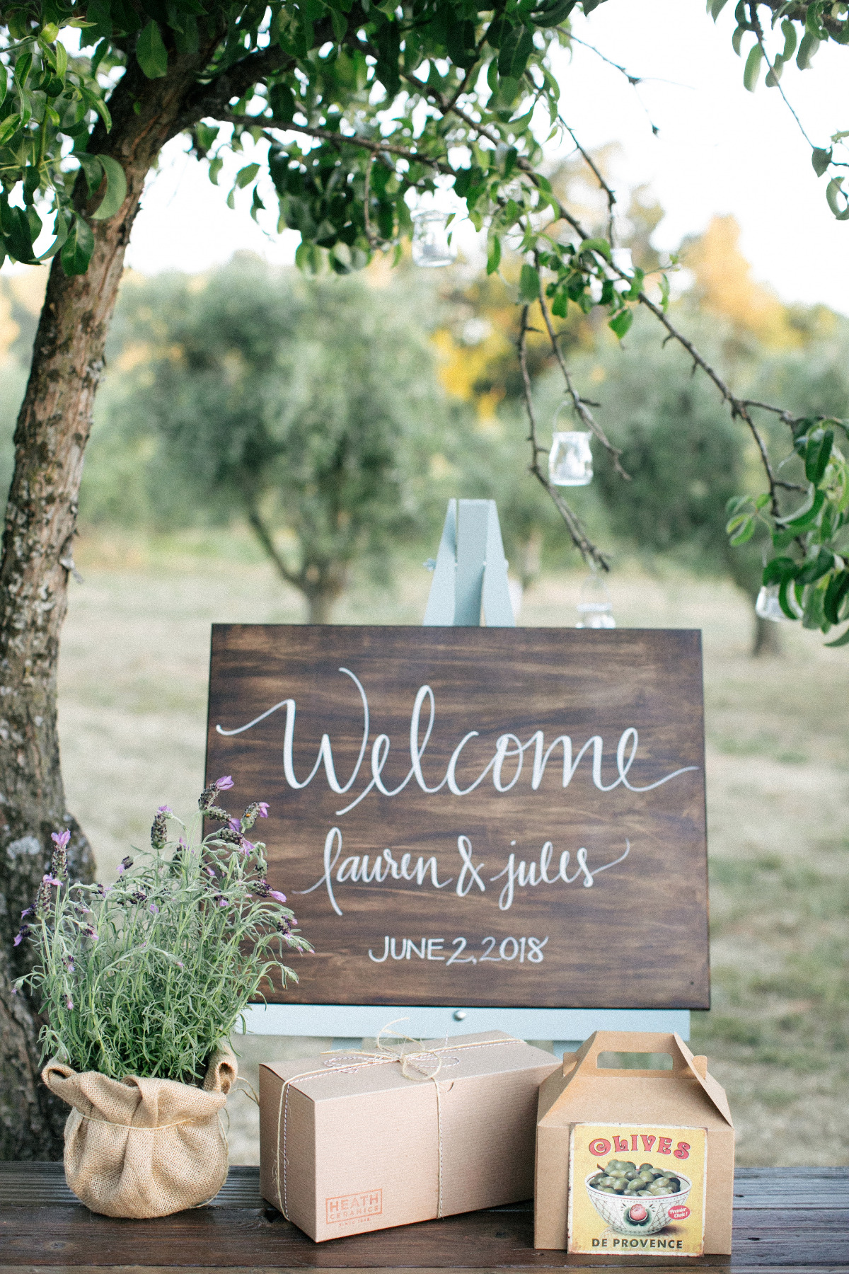 Farm Fresh Olive Orchard Wedding