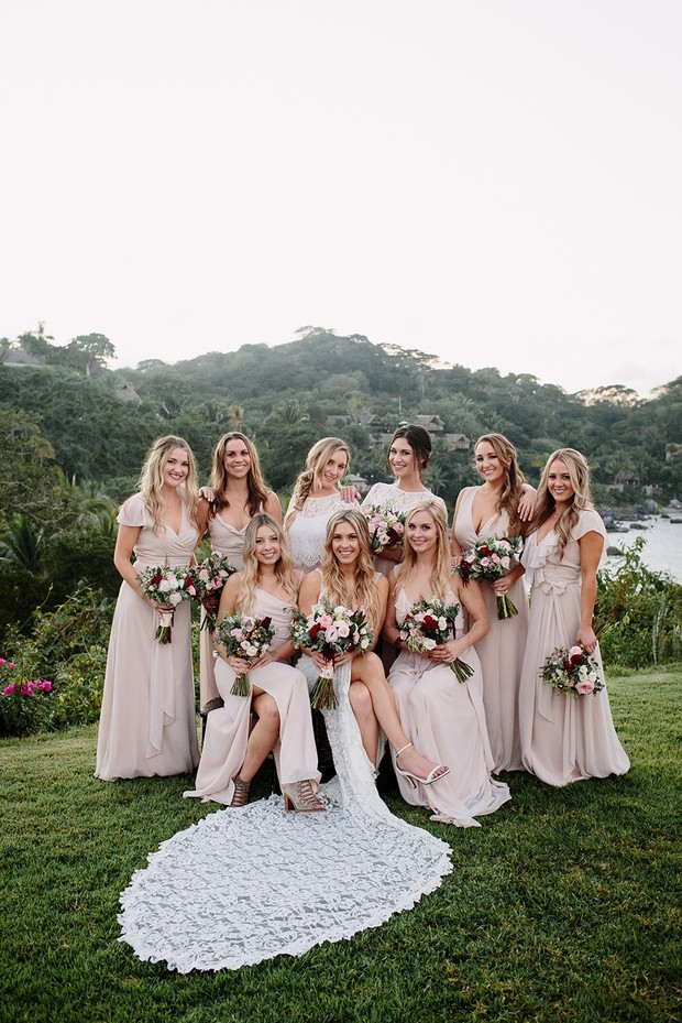 Cute bridesmaid photo