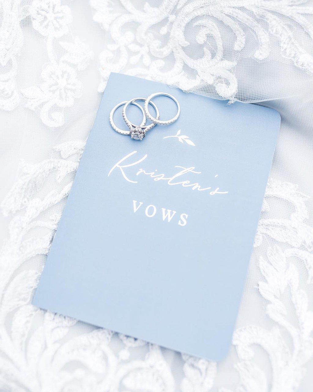 Did you write or are planning to write your own vows for your wedding?