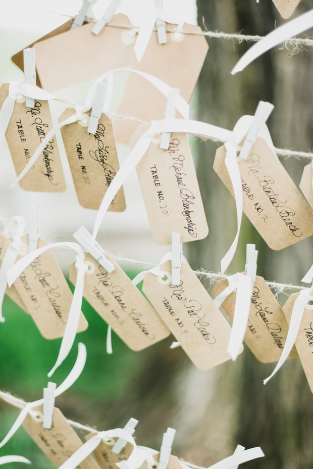 paper tag escort cards