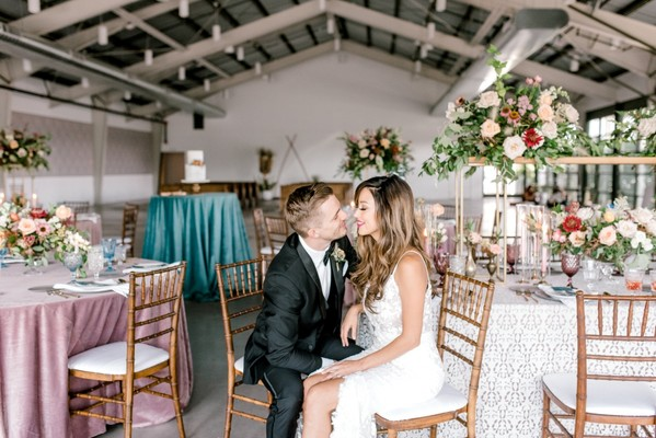 Desert Black-Tie Bohemian Wedding Inspiration