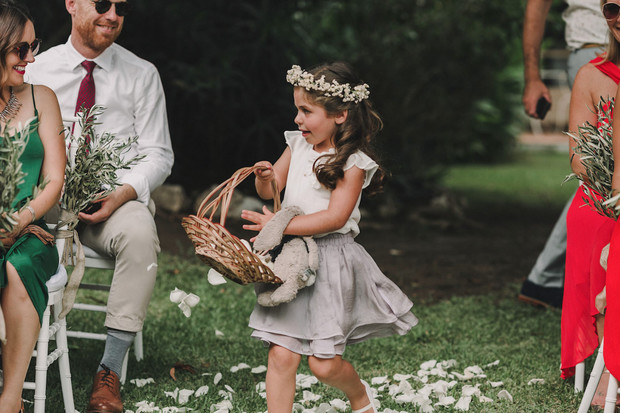 cute flower girl outfit