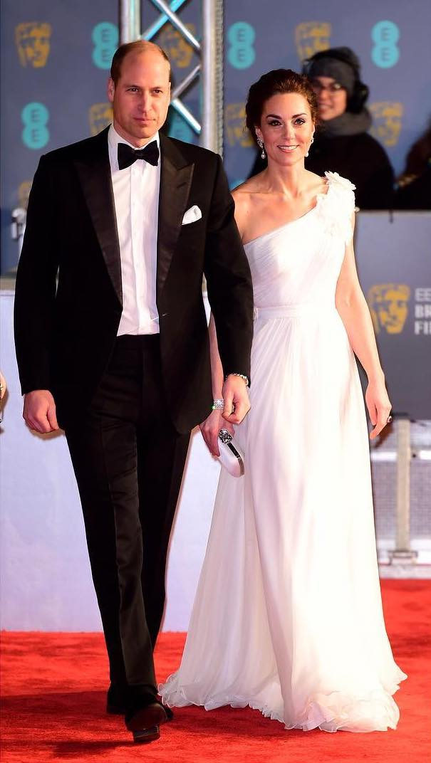 Kate Middleton's BAFTA Awards Ensemble Is Total Bride Goals