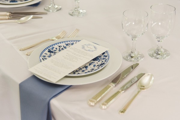 Multi Tradition Blue And White Wedding