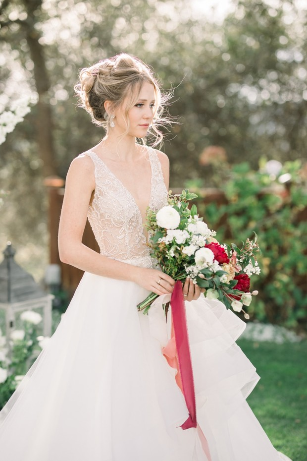 wedding dress from Epiphany Boutique