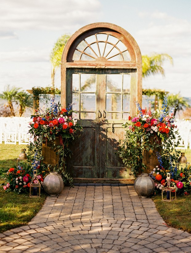 wedding entrance idea