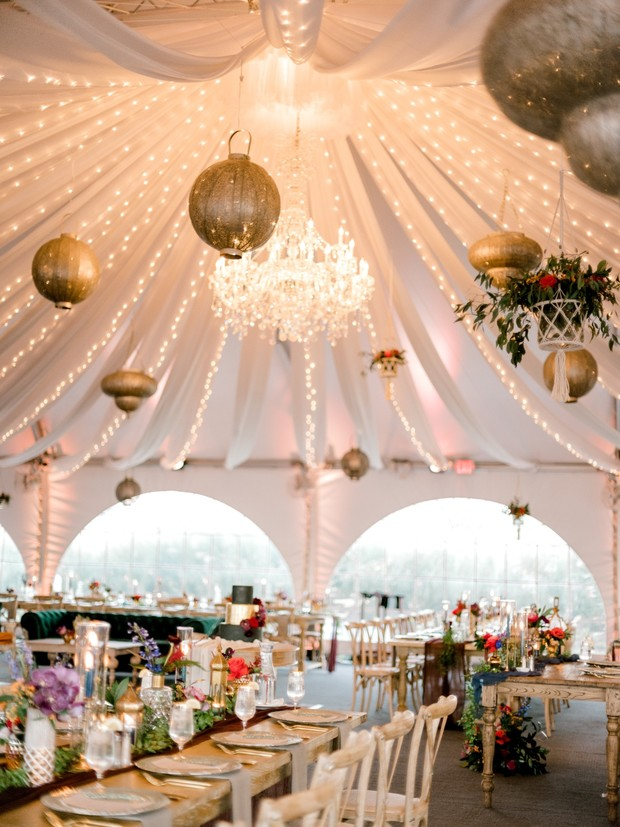moroccan inspired tent wedding