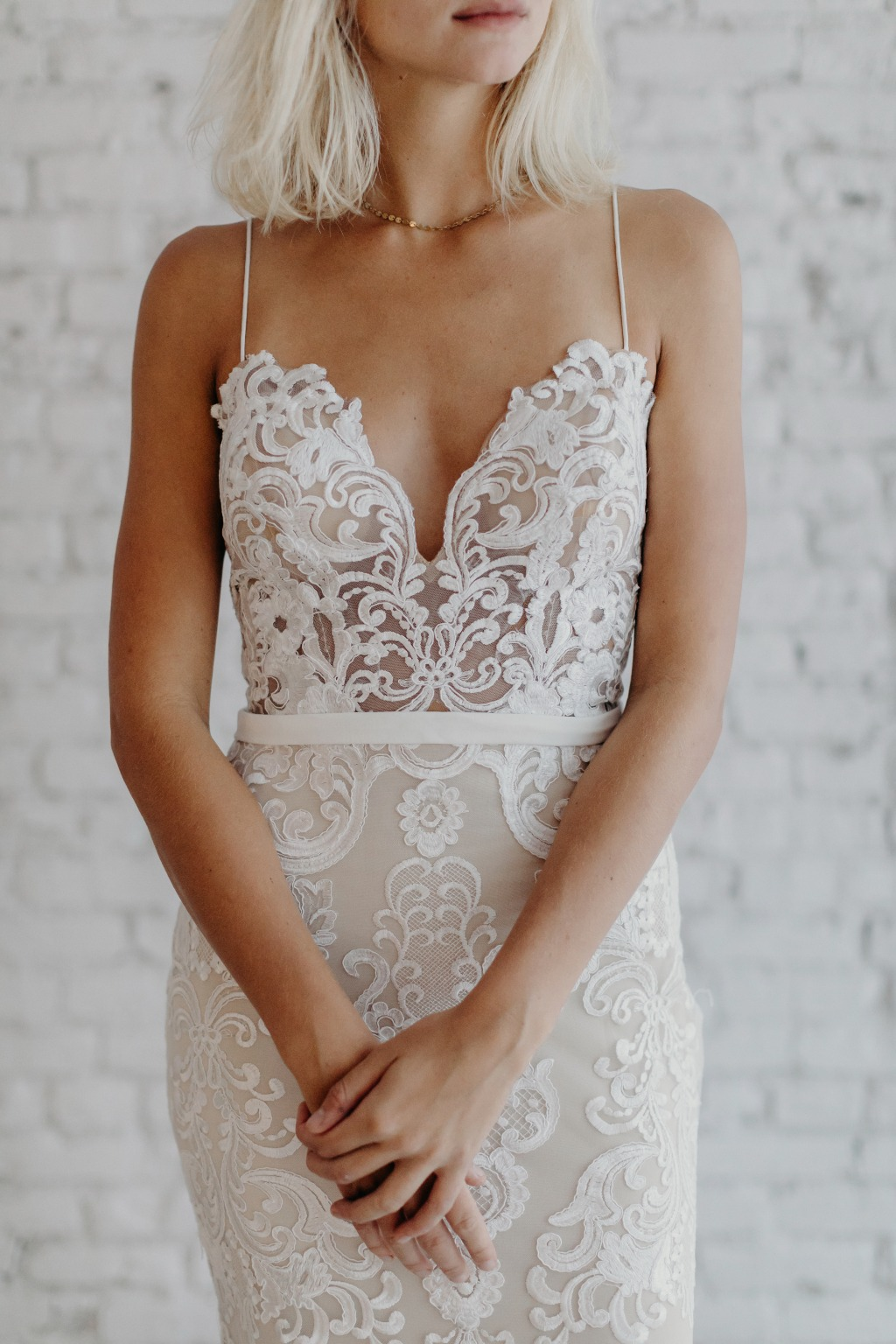 The best-selling dress from Australian bridal designer Goddess By Nature! It is available to try on at their stockist locations or