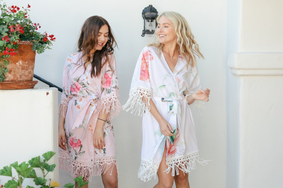 How to Reuse the Robes You've Accumulated By Being a Bridesmaid