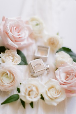 Glamorous Silver And White Wedding With A Surprise Musical Guest