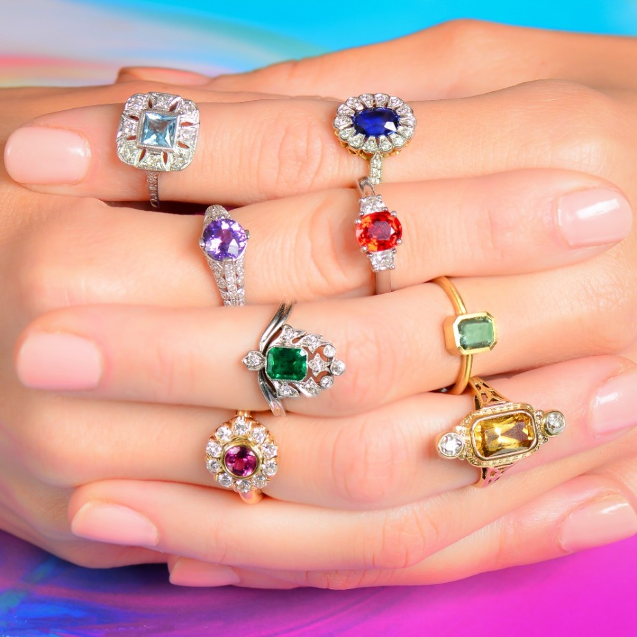 5 Rings That Remind Us of Katy Perry's Flower-Style Rock