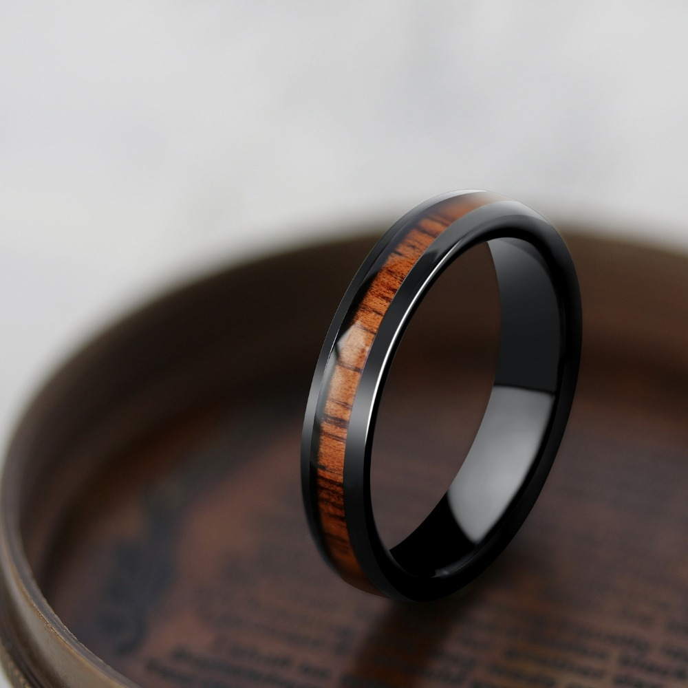 Mens or womens black wood wedding ring. Perfect for those who adore the great outdoors. Super durable and super comfy.