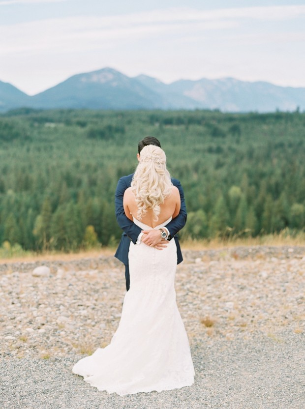 fall wedding in the great PNW