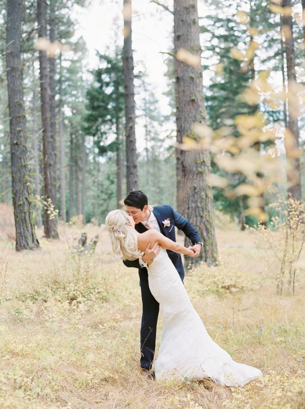 fall wedding in the Pacific Northwest