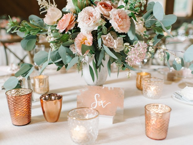 centerpiece table number