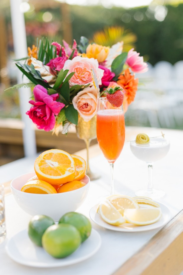 fruity signature wedding cocktails