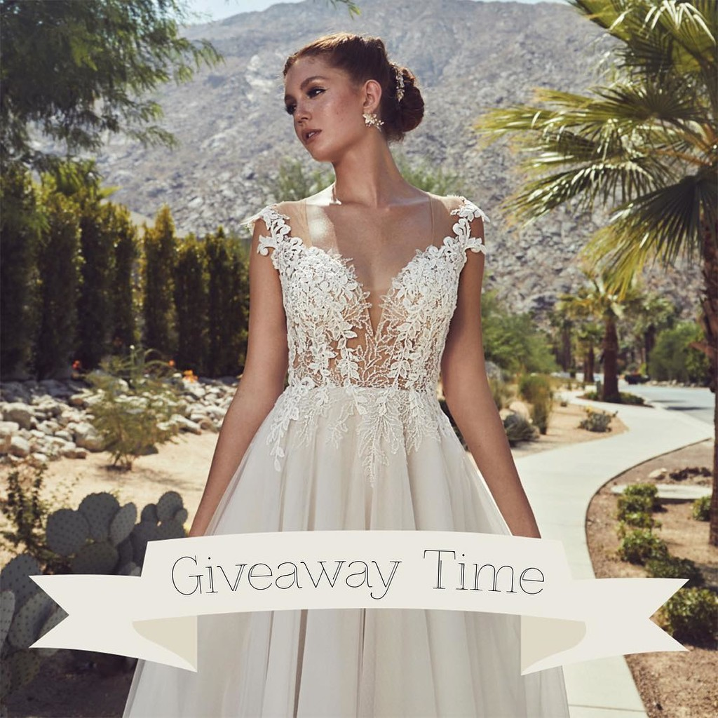 ✨ Time for a Wedding Dress GIVEAWAY ✨