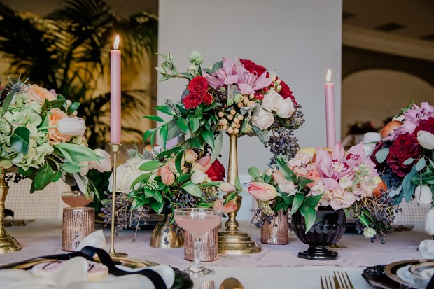 spring time floral decor for your spring wedding
