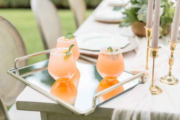 Kumquat wedding cocktail