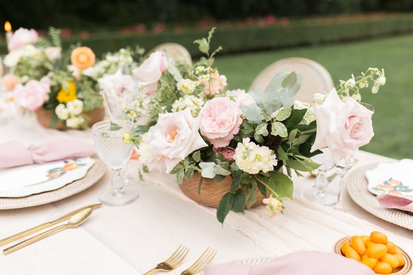 Whimsical Citrus Inspired Shoot On The First Day Of Spring