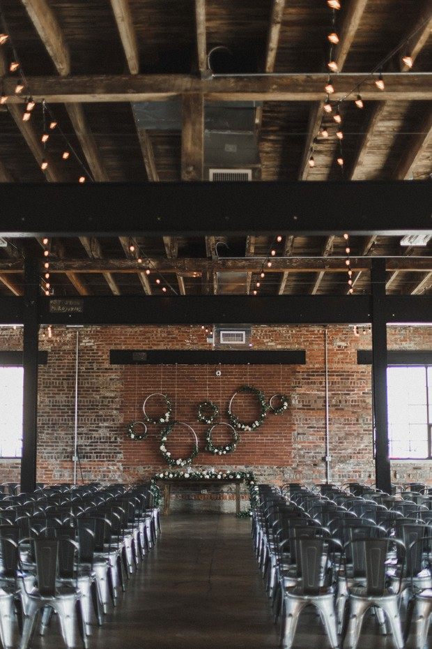 industrial boho wedding venue