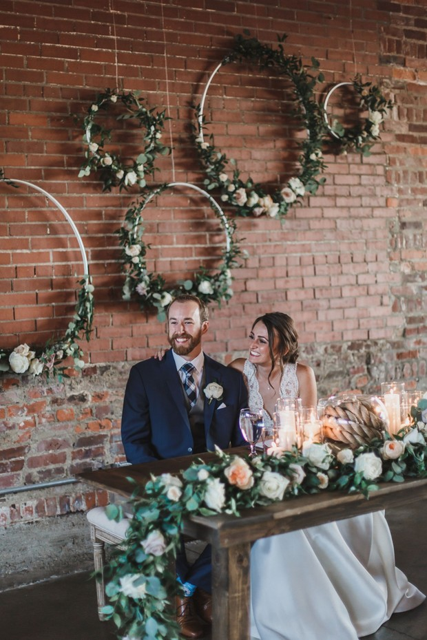 boho industrial wedding ideas