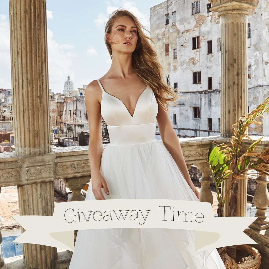 Have you entered the L'amour wedding dress giveaway yet? Don't worry there's still time! ❤️ L'amour wants to give one lucky